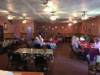 Adrian's Place in Madison, GA. It's like being in someone's living room. Excellent peach cobbler and sweet tea.