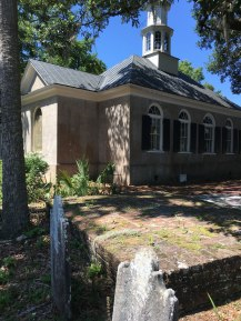 Christ Church north of Charleston where my sixth great-grandfather, Peter DuBose was married to Madelaine Rembert in 1725.