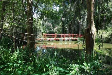 The grounds of Magnolia Plantation just south of Charleston.